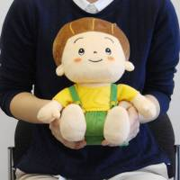 Osaka startup releases updated robot doll to keep seniors company