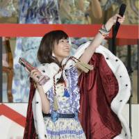 AKB48 fans crown Rino Sashihara as most popular member for second consecutive year