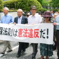 800 Osaka, Nagasaki residents sue over security laws