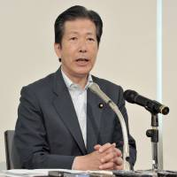 Constitutional revision, security laws shouldn't be election issues: Komeito chief