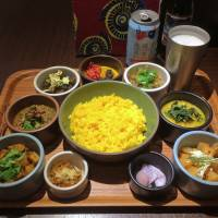 Fresh flotilla: Have more vegetables at Have More Curry. | ROBBIE SWINNERTON