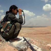 The women fighting ISIS