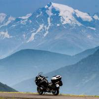 Exploring Europe on a rented motorcycle