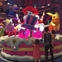 Sweet times at Tokyo's monster cafe