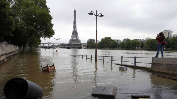 Climate change implicated in France floods