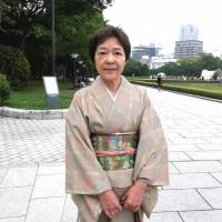 Mariko Watanabe, Ikebana and tea ceremony teacher, 64 (Japanese): I was moved by the president's speech. He not only talked in country-to-country terms, but also spoke to ordinary people. This will remain in my heart.