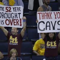 Cleveland rocks as title drought finally ends