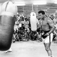 Muhammad Ali trains in New Orleans for his second fight with Leon Spinks in August 1978. | REUTERS