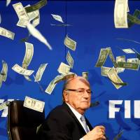 FIFA reveals Blatter, allies awarded selves $80 million