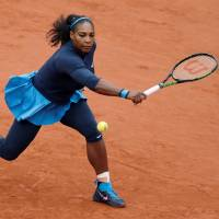 Serena conquers Bertens to reach French Open final