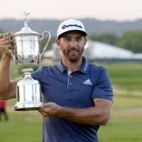 Johnson wins U.S. Open for first major despite penalty