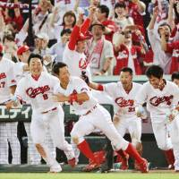 Wild finish: Collision rule review in ninth inning carries Carp past Lions