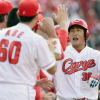 Carp rally past Buffaloes
