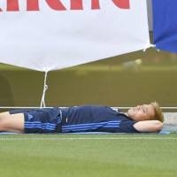 Injured Honda ruled out of Kirin Cup opener