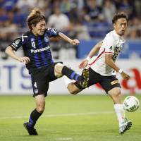 Urawa's first-stage title hopes fade with defeat at Gamba