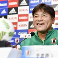 Teguramori issues challenge to players before South Africa match