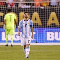 Messi says career with national team is over
