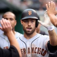 Panik, Williamson spark surging Giants past Pirates