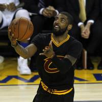 Irving, James help Cavaliers stay alive in NBA Finals