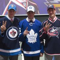 Leafs select Matthews with No. 1 pick in draft