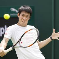 Nishikori determined to finally make impact at Wimbledon