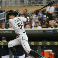 Ichiro moves closer to Rose's iconic mark
