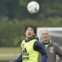 Okazaki inspired by Leicester City teammate Vardy's scoring prowess