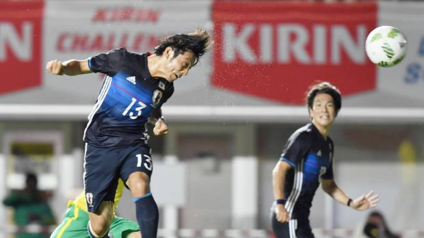 Japan cruises past South Africa in Olympic warmup
