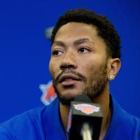 Rose looking forward to new start with Knicks