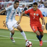 Argentina edges Chile in rematch of Copa America final