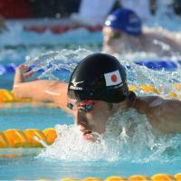 Hagino nabs two titles in Mare Nostrum meet