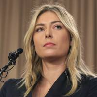 Sharapova suspended for two years for failed drug test