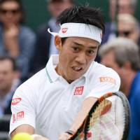 Nishikori tops Gasquet in warm-up