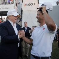 Trump blasts PGA Tour plan to move major golf tournament from his Doral course to Mexico