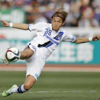 Gamba Osaka forward Takashi Usami will join Augsburg to begin his second stint in Germany having previously played for Bayern Munich and Hoffenheim. | KYODO