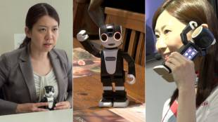 [VIDEO] Why a robot and phone? Interview with Sharp on RoBoHoN