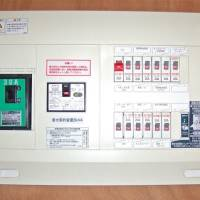 Power trip: electrical panel with 30-ampere main breaker switch