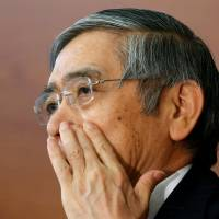 'Helicopter money' talk takes flight as Bank of Japan runs out of runway