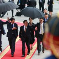 Japan, Mongolia agree to boost economic ties