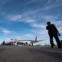 Sweden's Rockton leasing company orders up to 20 MRJ passenger planes