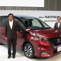 Nissan debuts new minivan with self-driving technology