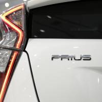 Toyota Motor Corp.'s fourth-generation Prius hybrid vehicle is seen during a Tokyo launch event in December. | BLOOMBERG
