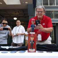 Outside RNC, Trump souvenirs selling like hotcakes