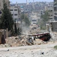 Aleppo's besieged wary of Russia, Syria safe-exit corridor offer