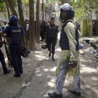 Three killed in new Bangladesh attack at start of Eid
