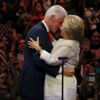 Bill Clinton offers rewards, and risks, to wife's campaign