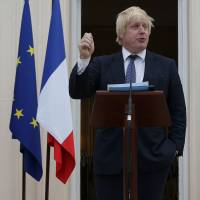 Johnson, Britain's new foreign secretary, says Brexit 'does not mean leaving Europe'