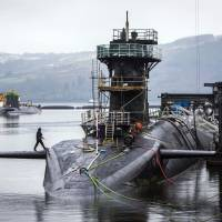 U.K. lawmakers set to debate replacing Britain's nuclear-armed submarines