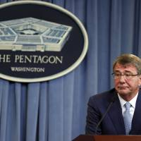 Carter says U.S. will use Iraq city as base to retake Mosul