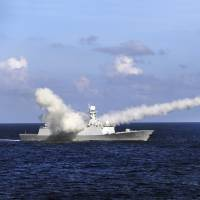 China holds naval combat drill in South China Sea near Hainan, Paracels